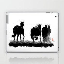 Homeward - A Herd of Horses Laptop & iPad Skin