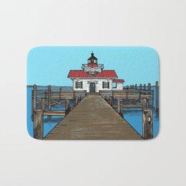 Roanoke Island Lighthouse Bath Mat
