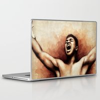 ali gulec Laptop & iPad Skins featuring Ali The Greatest by Paul Capon