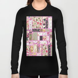 Quilt patterns style Long Sleeve T-shirt
