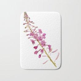 Flowers of fireweed Bath Mat
