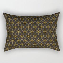 Hexabees Rectangular Pillow