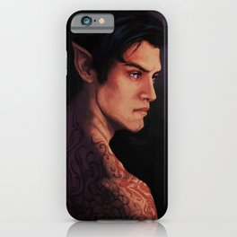 Rhysand Rhys Court of Thorns and Roses portrait iPhone Case
