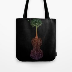 Rooted Sound IV Tote Bag