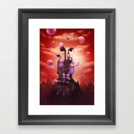 Bubble generator Framed Art Print
