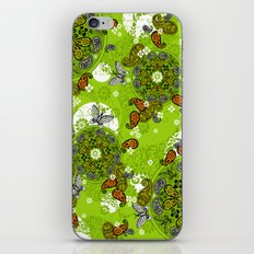 butterfly carousel iPhone & iPod Skin