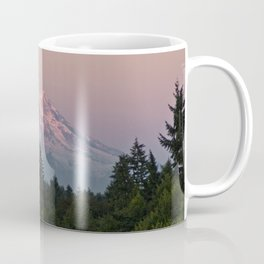 Mt. Rainier at Sunset Coffee Mug