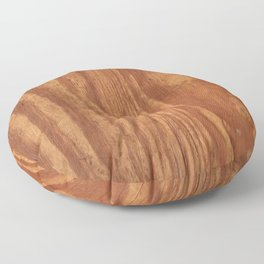 Wood Grain Floor Pillow