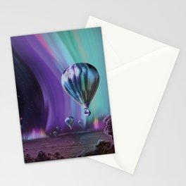 NASA Retro Space Travel Poster #7 Juniper Stationery Cards