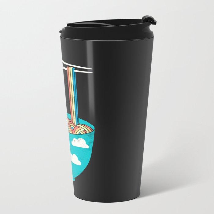 Rain-Bowl Metal Travel Mug