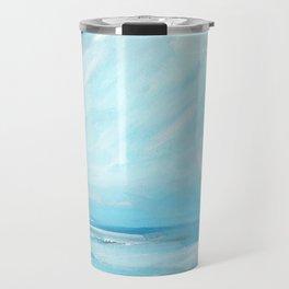 Resurgence - Stormy Ocean Seascape Travel Mug