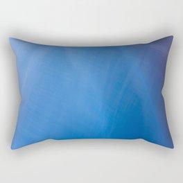 Blue Folds Rectangular Pillow