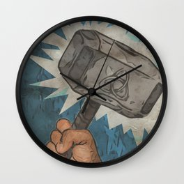 By the Hammer of Thor Wall Clock