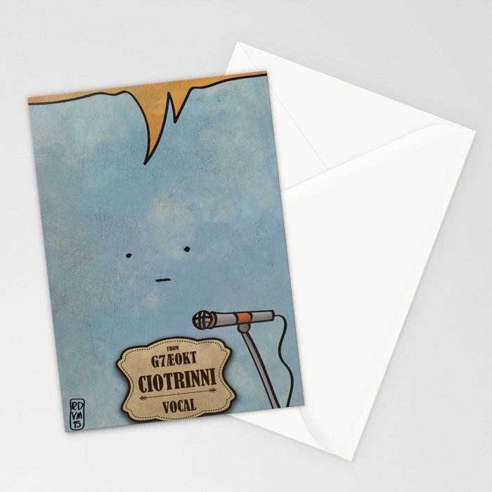 Ciotrinni from G7Ae0KT (Vocal) Stationery Cards