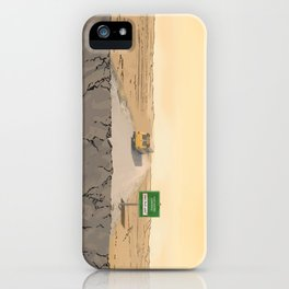 Now Leaving Sunnydale iPhone Case