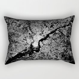 philadelphia map Rectangular Pillow