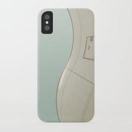 wavy wall iPhone Case