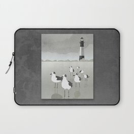 Seagulls Lighthouse Laptop Sleeve