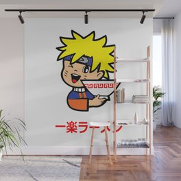 Ramen ninja Wall Mural