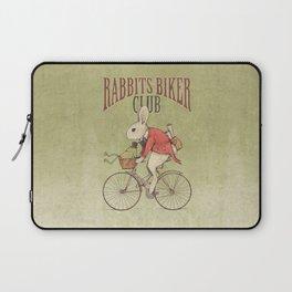 Rabbits Biker Club Laptop Sleeve