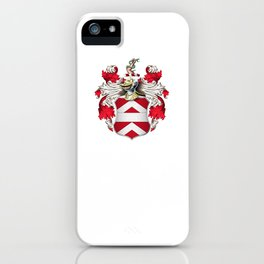 Coat of Arms - Nourse of Virginia iPhone Case