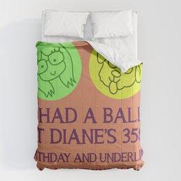 Diane Nguyen 35th Birthday Comforters
