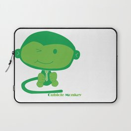Cubicle Monkey Laptop Sleeve