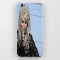 dolly parton iPhone & iPod Skins featuring Dolly Parton Homecoming Parade 2012 by Diana Falheim