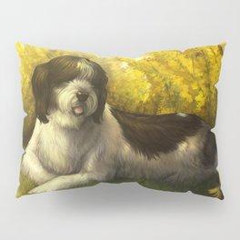Jake: Sheepdog Portrait Pillow Sham