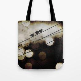Bird World Tote Bag