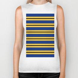 Line design in Barbados colors Biker Tank