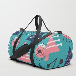 Mid-century modern Christmas Duffle Bag