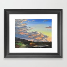 Closing In Framed Art Print