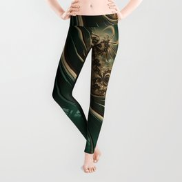 The Green and Gold Leggings