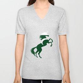 Unicorn Pakistan Flag Magical Unicorn Pakistanis Unisex V-Neck