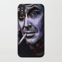 jack nicholson iPhone & iPod Cases featuring Jack Nicholson by andy551