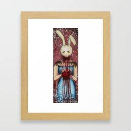 Heart Eater (Girl) Framed Art Print