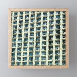 Tel Aviv - Crown plaza hotel Pattern Framed Mini Art Print