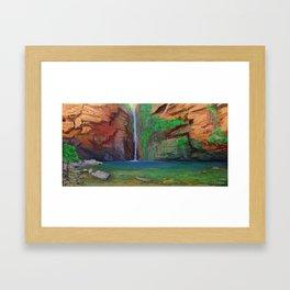 Emma Gorge Framed Art Print