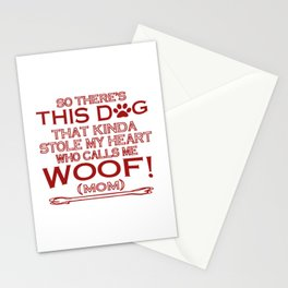 This Dog Stole My Heart! Stationery Cards