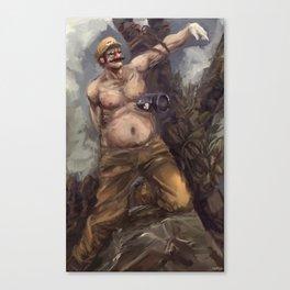 The Martydom of Saint Wario Canvas Print