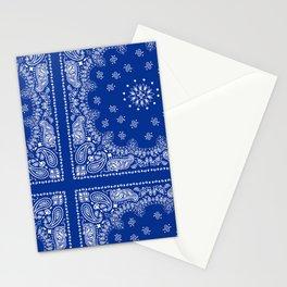 Blue Bandana Stationery Cards