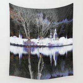 White Ryga reflections 011 27 10 17 Wall Tapestry