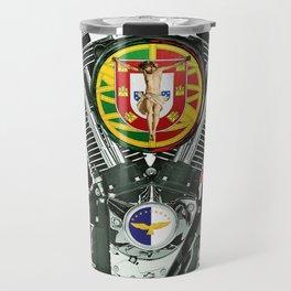 Portuguese Motorcycle Community Travel Mug