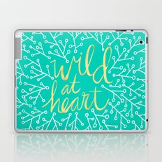 Wild at Heart – Turquoise Laptop & iPad Skin