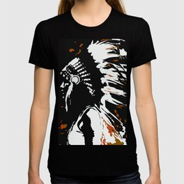 "Native American Indian ""Fearless in Flames"" T-shirt"