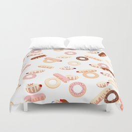 Donuts Galore Duvet Cover