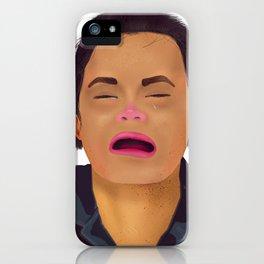 Mugshot Lady 1 iPhone Case