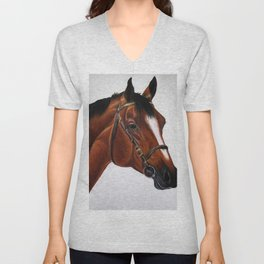 Warmblood Unisex V-Neck