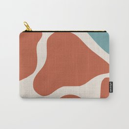 Amoeba red and blue Carry-All Pouch